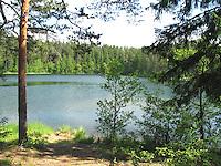 Lake Paukjärv, Harju County, Estonia