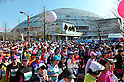 General view ,.MARCH 11, 2012 - Marathon : Nagoya Women's Marathon 2012 Start & Goal at Nagoya Dome, Aichi, Japan. (Photo by Jun Tsukida/AFLO SPORT)[0003].