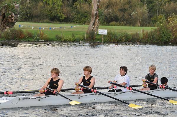490 HAM .Reading Rowing Club Small Boats Head 2011. Tilehurst to Caversham 3,300m downstream. Sunday 16.10.2011
