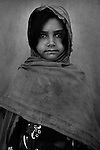 Medina, 4 - child of Afghan Mangal refugees, born in Pakistan, living now in Afghanistan's eastern Khost Province on Sunday Oct. 5, 2008.