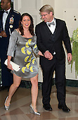 Ian Simmons, Co-Founder &amp; Principal, Blue Haven Initiative and Liesel Simmons arrive for the State Dinner in honor of Prime Minister Trudeau and Mrs. Sophie Gr&eacute;goire Trudeau of Canada at the White House in Washington, DC on Thursday, March 10, 2016.<br /> Credit: Ron Sachs / Pool via CNP