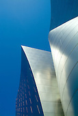 Disney Concert Hall exterior detail, Los Angeles, CA..Frank Gehry Architect