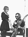 STEVIE NICKS & JOHN McVIE of Fleetwood Mac 1983........