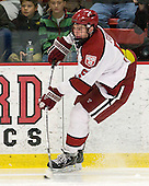 Dan Ford (Harvard - 5) - The Harvard University Crimson defeated the visiting Brown University Bears 3-2 on Friday, November 2, 2012, at the Bright Hockey Center in Boston, Massachusetts.