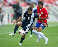 SANDY, UT - July 13, 2013: The Costa Rica vs Belize match at Rio Tinto Stadium in Sandy, Utah. Final score Costa Rica 1, Belize 0.