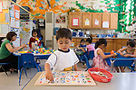 Berkeley CA  Overview of bilingual Spanish-English preschool, underwater decor, solitary, parallel and cooperative play