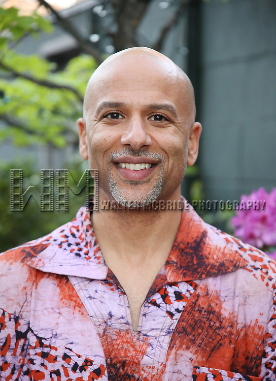 Justin Emeka attends The Drama League: Meet The Directing Fellows Hosted By Stewart F. Lane & Bonnie Comley at a private residence on May 15, 2017 in New York City.