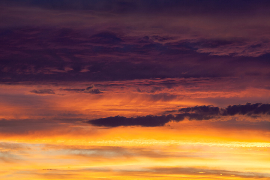 Arizona sunset, AZ, USA