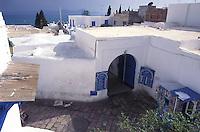 Tunisia, vista della citt&agrave; di Hammamet.<br /> Tunisia, view of the city Hammamet.