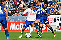 Bruno Lopes (Albirex), Daiki Niwa (Avispa), MARCH 5, 2011 - Football : 2011 J.League Division 1 match between Avispa Fukuoka 0-3 Albirex Niigata at Level 5 Stadium in Fukuoka, Japan. (Photo by AFLO)