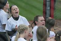 NWA Democrat-Gazette/ANTHONY REYES @NWATONYR<br /> Nashville against Pottsville, Friday, May 19, 2017 in the 4A State Softball Championship at Bogle Park in Fayetteville. Pottsville won 11-3.