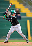 2 May 2008: Binghamton University Bearcats' outfielder Joe Charron, a Sophomore from Schaghticoke, NY, in action against the University of Vermont Catamounts at Historic Centennial Field in Burlington, Vermont. The Catamounts defeated the Bearcats 6-2 in the first game of their weekend series...Mandatory Photo Credit: Ed Wolfstein Photo