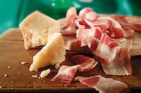 Parmisan and pancetta food photos
