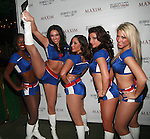 The UnOfficial Dancers of the NY Giants attend Maxim Magazine's Annual Maxim Party at the Greenwich Village Country Club, NY   2/4/12