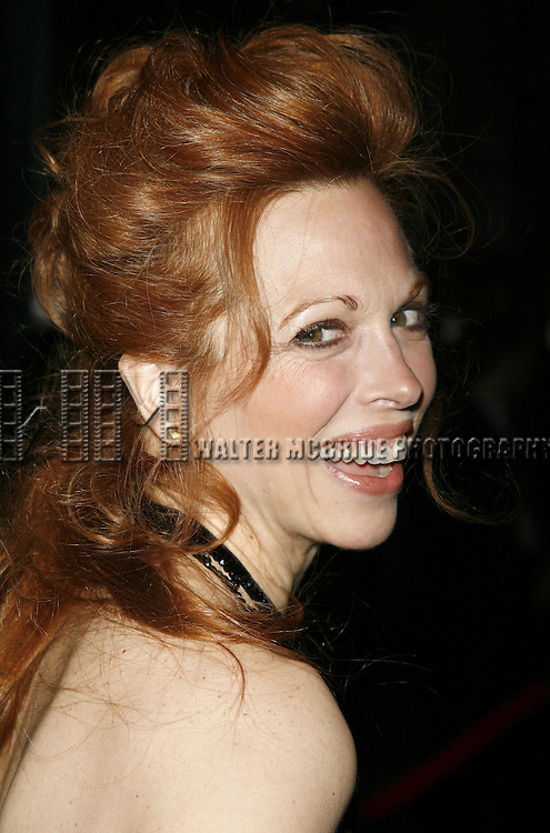 Carolee Carmello.attending the Opening Night of Warner Bros. Theatre Ventures' Inaugural production of LESTAT at the Palace Theatre with an after party at Time Warner Center in New York City. .April 25, 2006 .© Walter McBride/WM Photography