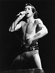 AC/DC Bon Scott 1976..&copy; Chris Walter..