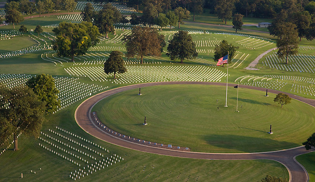 Chattanooga National Cemetery for military veterans