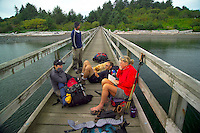 Nootka Island, British Columbia, Canada, August 2006. Friendly Cove in the Yuquot First Nations Reserve is the final destination of our trip. Trekking the Nootka trail takes hikers through dense rainforest and along beaches full of marine life. Photo by Frits Meyst/Adventure4ever.com.