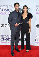 Adam Rodriguez &amp; Grace Gail at the 2017 People's Choice Awards at The Microsoft Theatre, L.A. Live, Los Angeles, USA 18th January  2017<br /> Picture: Paul Smith/Featureflash/SilverHub 0208 004 5359 sales@silverhubmedia.com