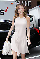 NEW YORK, NY - APRIL 13: Christine Evangelista seen on her way to NBC's Today Show in New York City on April 13,  2017. Credit: RW/MediaPunch
