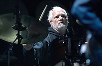 Bill Kreutzmann of The Dead performing in concert at the Tweeter Center, Mansfield MA 22 June 2003