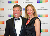 Assistant Secretary of State for Economic and Business Affairs Charles Rivkin and his wife, Susan, arrive for the formal Artist's Dinner honoring the recipients of the 39th Annual Kennedy Center Honors hosted by United States Secretary of State John F. Kerry at the U.S. Department of State in Washington, D.C. on Saturday, December 3, 2016. The 2016 honorees are: Argentine pianist Martha Argerich; rock band the Eagles; screen and stage actor Al Pacino; gospel and blues singer Mavis Staples; and musician James Taylor.<br /> Credit: Ron Sachs / Pool via CNP