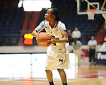 "Ole Miss' Valencia McFarland (3) vs. Central Michigan at C.M. ""Tad"" Smith Coliseum in Oxford, Miss. on Wednesday, December 14, 2011."