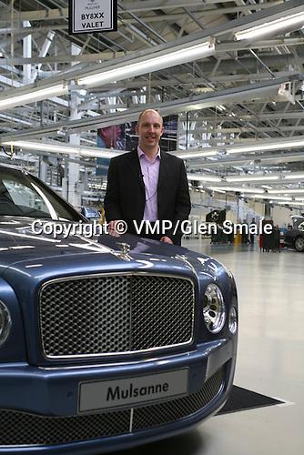 Robin Page - Head of Interior Q A Robin Page Head Interior Desiger Bentley