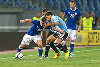 Argentina beats Italy 2-1 during the international friendly between Italy vs Argentina at Stadio Olimpico, in Rome, on August 14, 2013 in Rome. In the photo: Marco Verratti Italy. Photo: Adamo Di Loreto/BuenaVista*photo