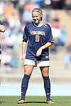 20 October 2013: Virginia's Makenzy Doniak. The University of North Carolina Tar Heels hosted the University of Virginia Cavaliers at Fetzer Field in Chapel Hill, NC in a 2013 NCAA Division I Women's Soccer match. Virginia won the game 2-0.