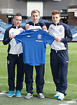 Barrie McKay, Robbie Crawford and Lewis Macleod have all signed long term deals to commit to Rangers