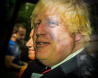 Boris Johnson leaves press conference after announcing he is out of the Conservative race to replace Cameron. Prime Minister candidate no more.  London, England June 30, 2016<br /> CAP/CAM<br /> &copy;Andre Camara/Capital Pictures /MediaPunch ***NORTH AND SOUTH AMERICAS ONLY***
