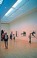 Los Angeles: Museum of Contemporary Art--Interior. Arata Isozaki. Photo '87.