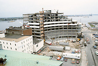 1983 April 18..Redevelopment.Downtown West (A-1-3)..WORLD TRADE CETNER .CONSTRUCTION  PROGRESS PHOTOS...NEG#.NRHA#..