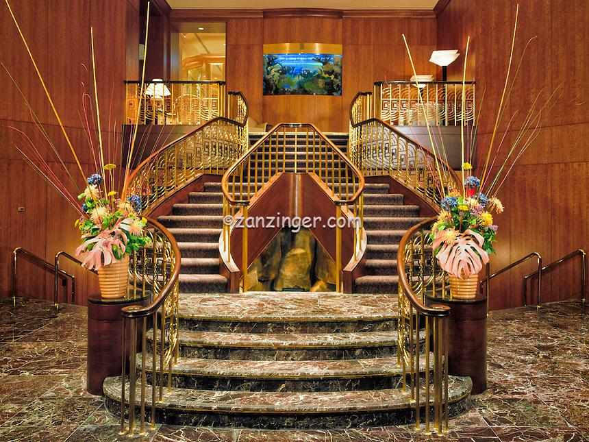 Caesars Palace,  Las Vegas, Nevada, Restaurant Grand Staircase