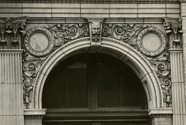 UNDATED..Conservation.Downtown West (A-1-3)...Citizens Bank Building Detail.Main Street...NEG#..