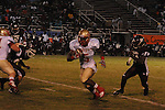 Lafayette High's Demarkous Dennis (5) runs vs. Greenwood in Greenwood, Miss. on Friday, August 26, 2011. Lafayette won 42-0.