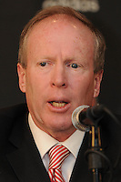 DC United President and CEO Kevin Payne at the presentation of the new Head Coach for DC United, RFK stadium November 29, 2010.