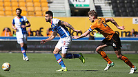 Blackburn Rovers' Derrick Williams and Wolverhampton Wanderers' David Edwards<br /> <br /> Photographer Rachel Holborn/CameraSport<br /> <br /> The EFL Sky Bet Championship - Wolverhampton Wanderers v Blackburn Rovers - Saturday 22nd April 2017 - Molineux - Wolverhampton<br /> <br /> World Copyright &copy; 2017 CameraSport. All rights reserved. 43 Linden Ave. Countesthorpe. Leicester. England. LE8 5PG - Tel: +44 (0) 116 277 4147 - admin@camerasport.com - www.camerasport.com