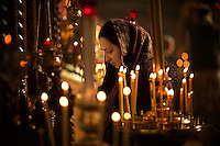 Vigil messe i den Russiske Ortodokse kirken. Los Ageles. 28.11.10.