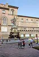 Italy: Bologna--Neptune's Fountain, 1566. The work of a Frenchman, Jean Bologne. Photo '83.