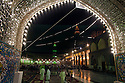 Shi'a Muslims gather for prayer and reflection during Ramadan at the Khadamiyah Shrine September 04, 2010 in Baghdad, Iraq. An intense power struggle between Iraq's Shia political leaders and parties is one of the main obstacles to the formation of a new government since the inconclusive March 2010 poll, according to senior Iraqi officials involved in ongoing negotiations. Credit: Scott Nelson for the Wall Street Journal.Slug: Iraq - Shia divisions.