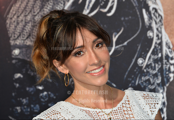 Fernanda Romero at the premiere for &quot;The Great Wall&quot; at the TCL Chinese Theatre, Hollywood, Los Angeles, USA 15 February  2017<br /> Picture: Paul Smith/Featureflash/SilverHub 0208 004 5359 sales@silverhubmedia.com