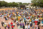 July 13, 2015. Winston Salem, North Carolina.<br />  Thousands attended the NC NAACP's rally to support their voting rights case against Gov. Pat McCrory.<br />  To rally support for the North Carolina NAACP's case against Gov. Pat McCrory (NC NAACP v. McCrory), a march was held in downtown Winston Salem on the opening day of the case in federal court. Thousands gathered to walk the streets of downtown and listen to speeches proclaiming the importance of defeating new requirements for voter registration,<br />  The NC NAACP contests that HB 589 (Voter ID requirements) violate Section 2 of the Voting Rights Act (42 U.S.C. 1973) and the Fourteenth and Fifteenth Amendments of the Constitution.