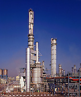 Petrochemical plant, ethylene, India. Mumbai/Bombay