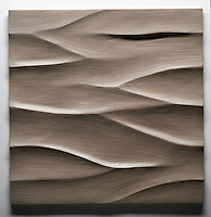 Giovanni Barbieri 24x24 inch Boreal carved tile in Jasmine.