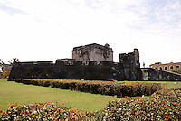 Baluarte de Santiago in the city of Veracruz, Mexico. Built in 1526, this is the only surviving bastion from the wall that once surrounded the port of Veracruz.