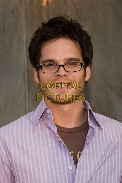 GREG RIKAART.CBS Summer 2005 Press Tour Party Arrivals held at the Hammer Museum, Westwood, California.  .July 19th, 2005.Photo Credit: Zach Lipp/AdMedia.headshot portrait glasses stubble facial hair.www.capitalpictures.com.sales@capitalpictures.com.© Capital Pictures.