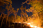Bush fire, Arnhem Land, Northern Territory