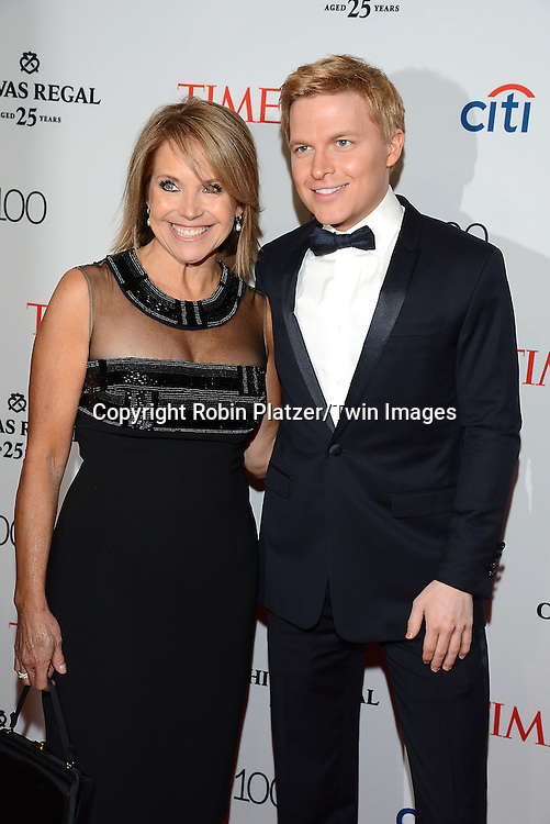 Katie Couric and Ronan Farrow attends the TIME 100 Issue celebrating the 100 Most Influential People in the World on April 21, 2015 <br /> at Frederick P Rose Hall at Lincoln Center in New York City, New York, USA.<br /> <br /> photo by Robin Platzer/Twin Images<br />  <br /> phone number 212-935-0770